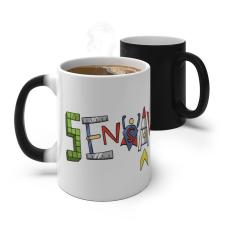 SensaWonder (letters) - Color Changing Mug
