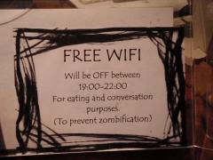 Free wifi?
