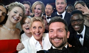 selfie at the Oscars