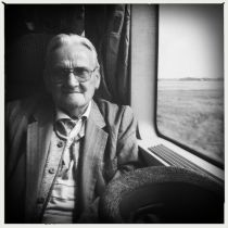 Man on a Train