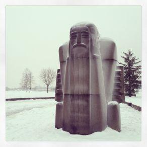 Thunder God in Snow