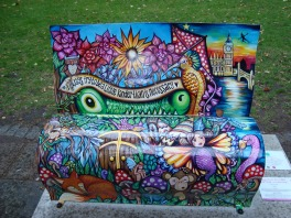 Peter Pan (first bench)