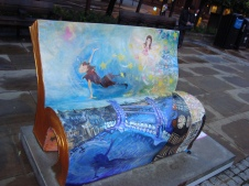 Peter Pan (second bench)