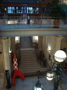 Comic Museum lobby