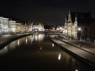 Ghent at night