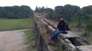 on-the-aqueduct