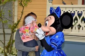 Minnie tells Monki a secret