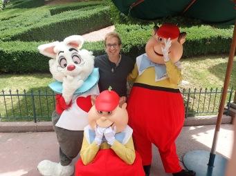 Hanging with my Wonderland homies
