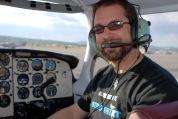 Flying a plane