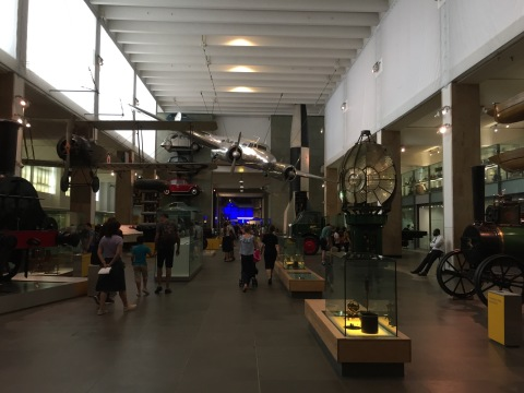 Wandering through the science museum