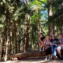 Family at Witches hill