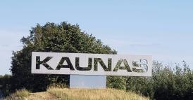 Kaunas sign