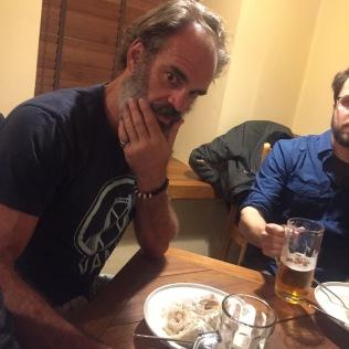 Steven contemplates ceppelini