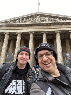 Jaq and Sean British Museum.jpg