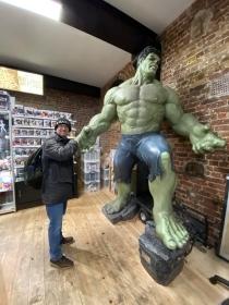 Jaq with Hulk