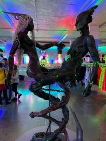 Sculpture at Cyberdog