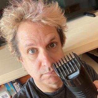 Cutting Hair before