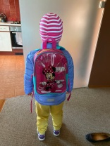 monki ready for school